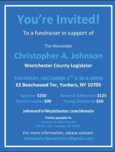 Christopher Johnson Fundraiser Kickoff