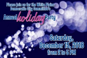 White Plains Dems Holiday Party