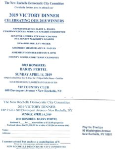 New Rochelle Victory Dinner @ VIP Club