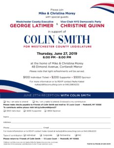 Colin Smith for County Legislature
