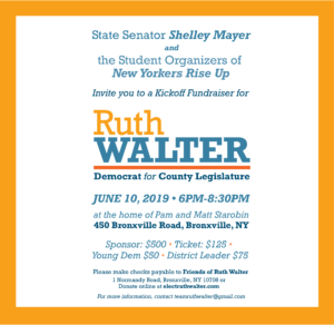 Ruth Walter Kickoff Fundraiser