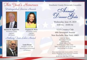 Westchester County Dem Annual Dinner Gala @ VIP Country Club