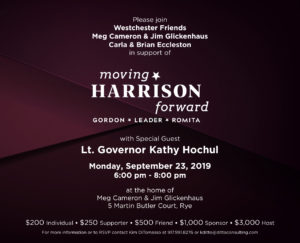 Moving Harrison Forward Fundraiser ft Lt Governor Kathy Hochul