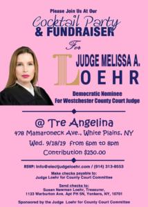 Melissa Loehr Fundraiser @ Tre Angelina