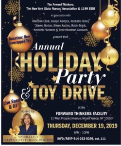 The Forward Thinkers, NYS Nurses Association & 1199 SEIU's Annual Holiday Party & Toy Drive @ Forward Thinkers Facility