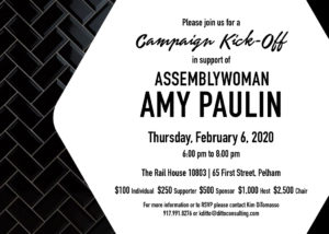 Amy Paulin Campaign Kickoff @ The Rail House 10803