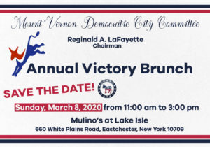 Mount Vernon Democratic Committee Victory Brunch @ Mulino's at Lake Isle