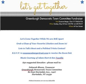 GREENBURGH DEMOCRATIC COMMITTEE ZOOM FUNDRAISER