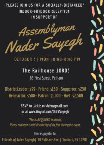 Nader Sayegh Fundraiser @ The Railhouse 10803