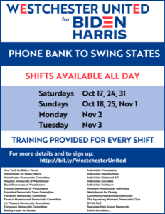 Biden+Harris Swing State Phone Banks